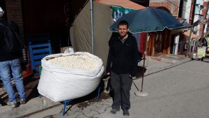 Can't complain about the size of Bolivian popcorn bags