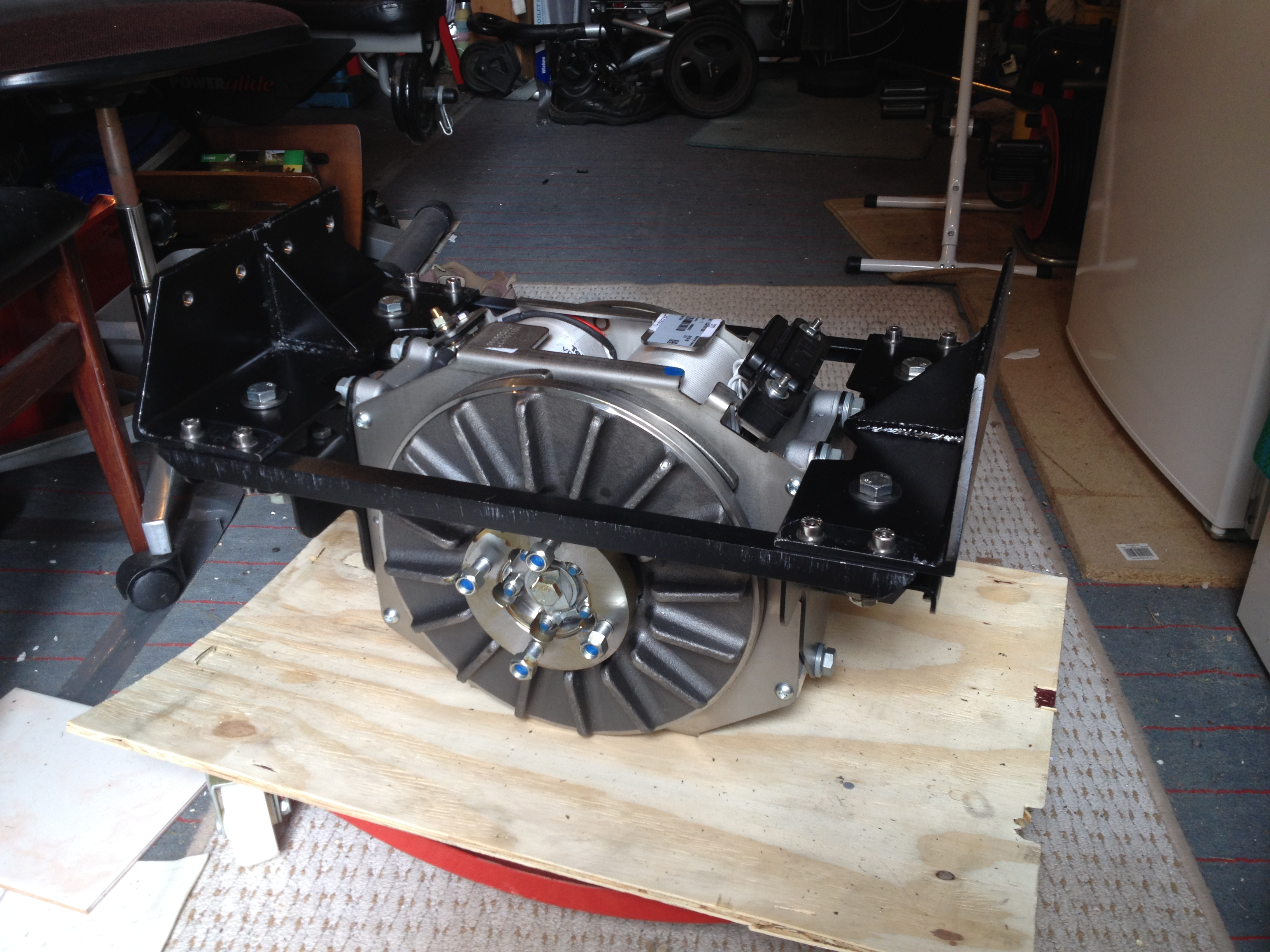 Retarder installation on Iveco Daily 4x4 - transforming the